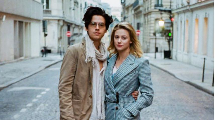 Cole Sprouse mit Lili Reinhart, September 2018