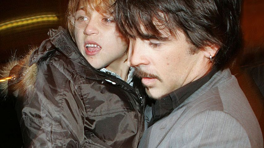 Colin Farrell und sein Sohn James