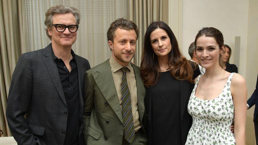 "Colin Firth, Livia Giuggioli, Francesco Carrozzini, Bee Shaffer auf der ""Forever Tasmania"" Premiere"