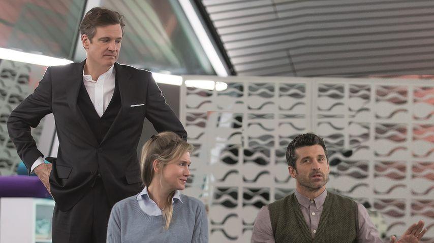 """Colin Firth, Renée Zellweger und Patrick Dempsey bei """"Bridget Jones' Baby"""""""