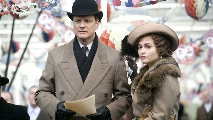 "Colin Firth und Helena Bonham Carter in ""The King's Speech"" (2010)"