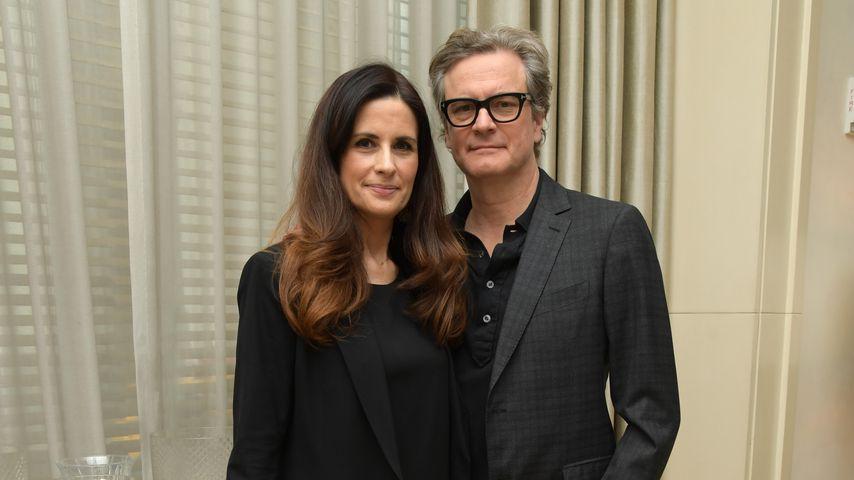 """Livia Giuggioli und Colin Firth bei der Filmpremiere von """"Forever Tasmania"""""""