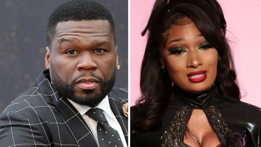 50 Cent entschuldigt sich im Netz bei Megan Thee Stallion