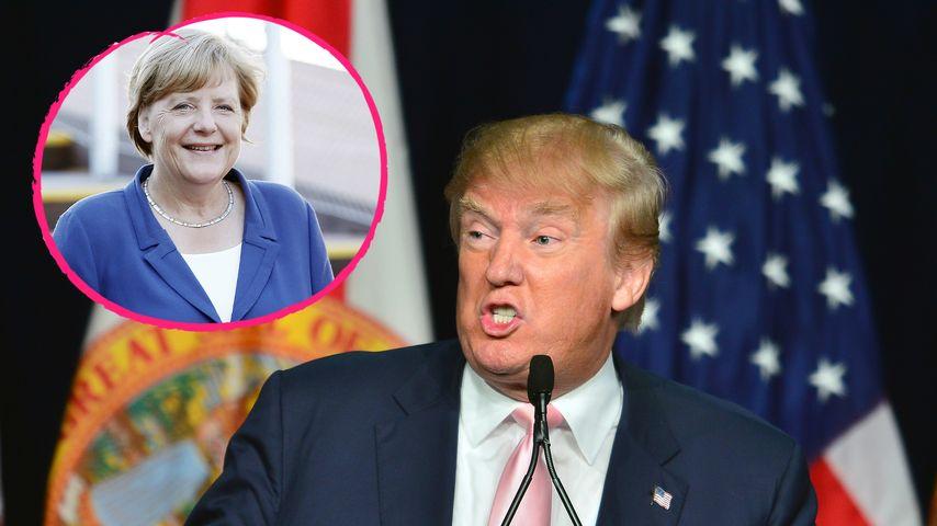 """Donald Trump: """"Angela Merkel ruiniert ganz Deutschland"""""""
