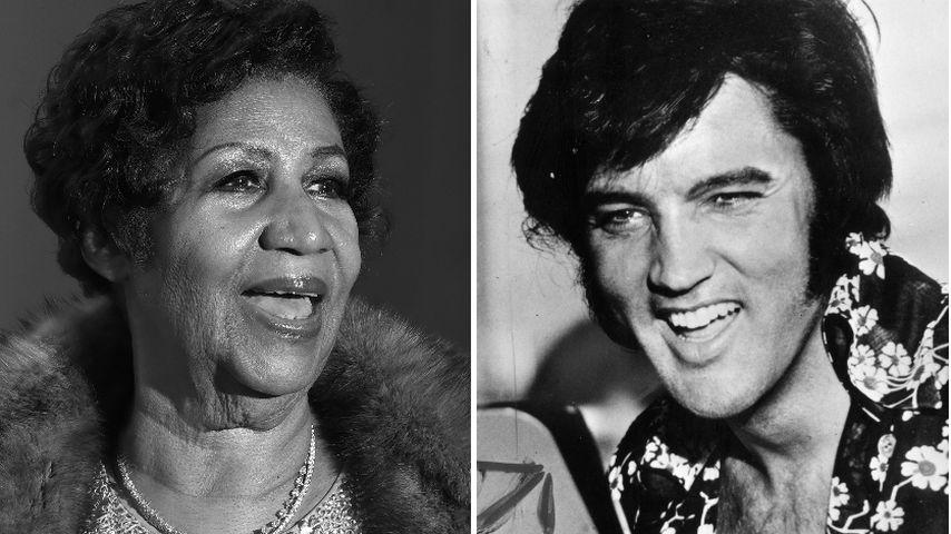 Unglaublich: Aretha Franklin & Elvis starben am gleichen Tag