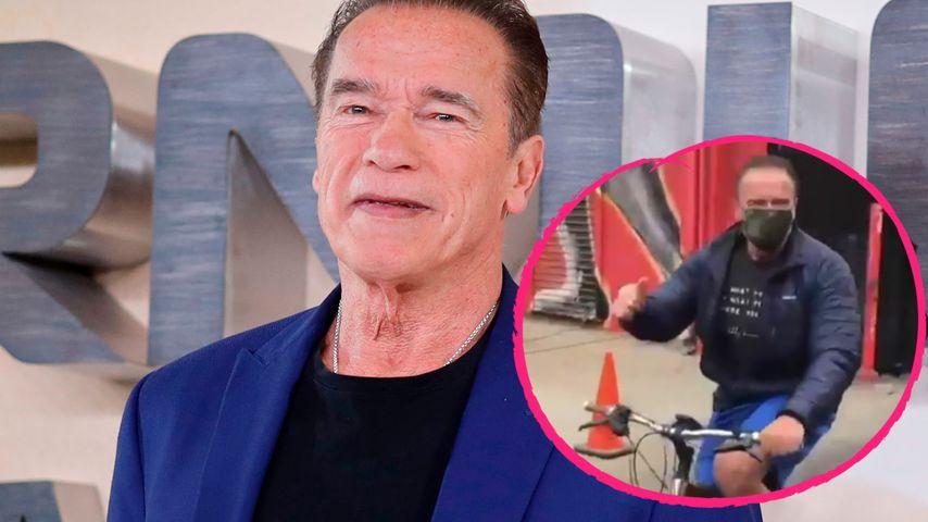 Nach dritter Herz-OP: Arnold Schwarzenegger sportelt wieder