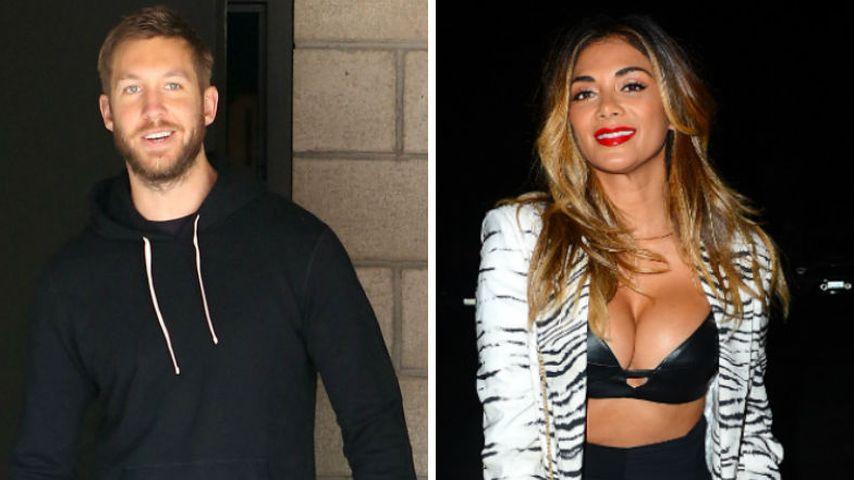 Heiße Rache? Calvin Harris feiert mit Nicole Scherzinger