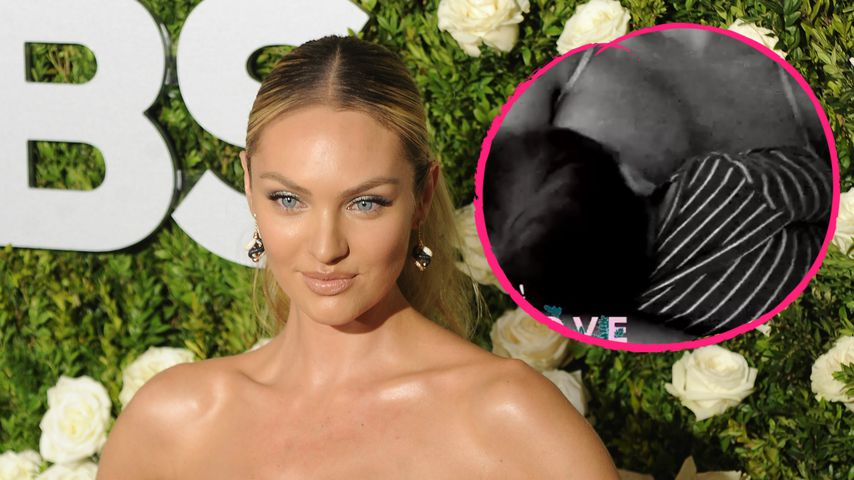 Nach Body-Kritik: Candice Swanepoel postet süßes Still-Video