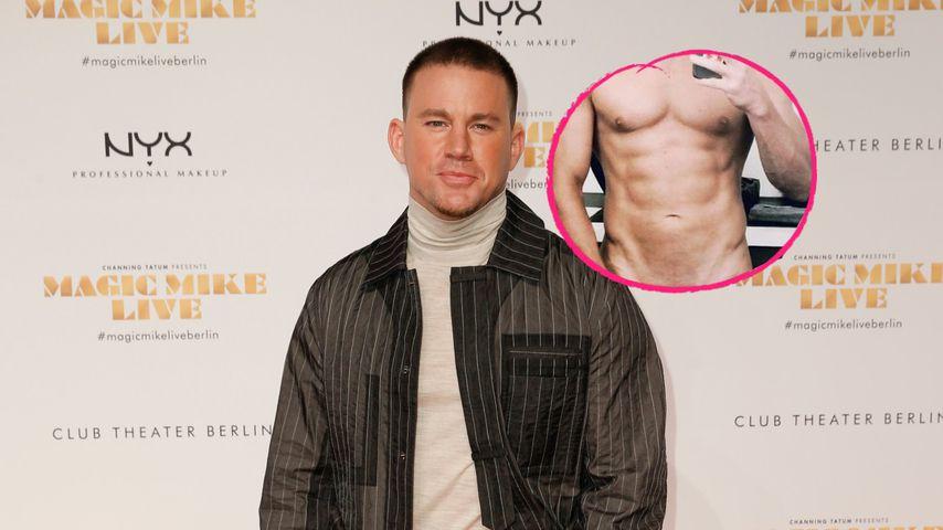 Hottie-Alarm: Channing Tatum präsentiert sich nackt im Web
