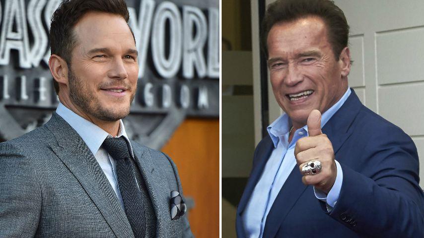 Segen für die Hochzeit: Chris Pratt hatte Angst vor Arnie!