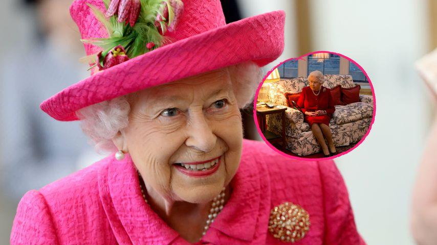 Die Queen ganz privat: So sieht es in ihrem Wohnzimmer aus