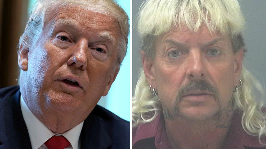 Will Donald Trump Joe Exotic etwa aus dem Knast holen?