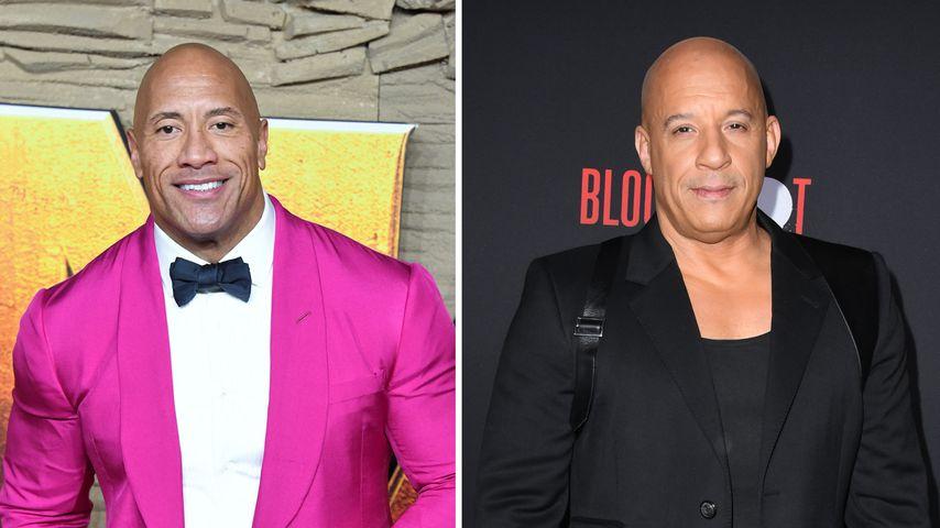 """""""Habe gelacht!"""": The Rock über Vin Diesels Streit-Statement"""