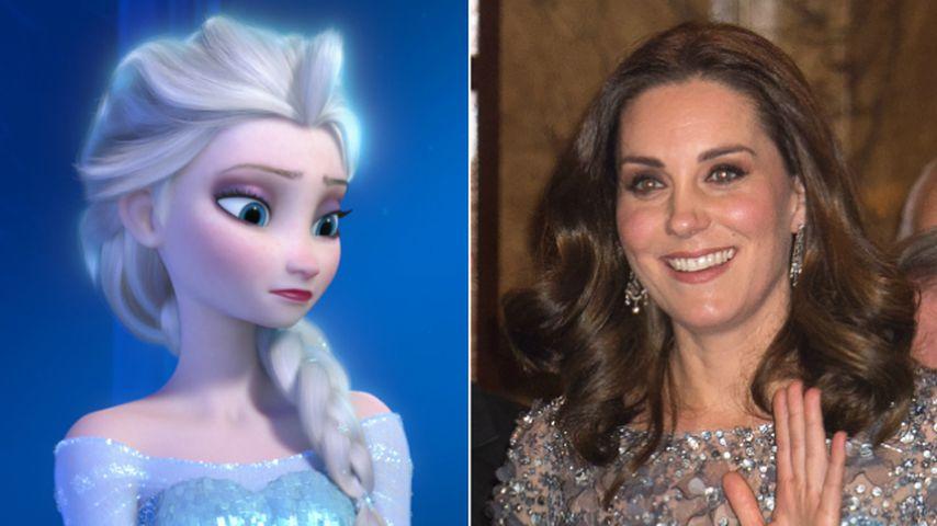 Strahlender als Elsa: Herzogin Kate bezaubert in Eisblau!