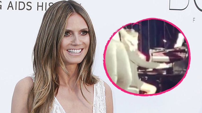 Erster Papa-Tochter-Auftritt: Heidi Klum mega-stolz auf Lou!