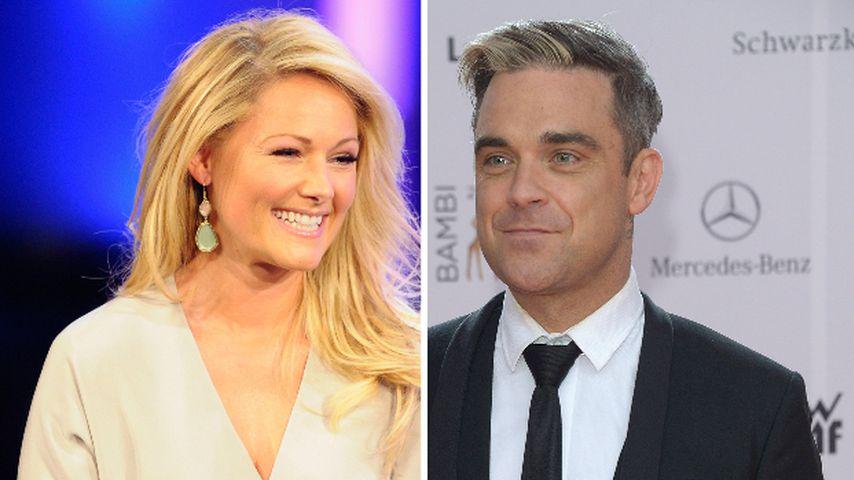 """""""Santa Baby"""": Helene Fischer singt mit Robbie Williams!"""
