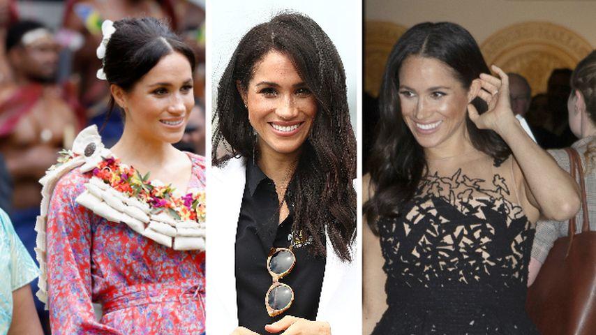 Zum Ende ihrer Royal-Tour: Das waren Meghans schönste Looks