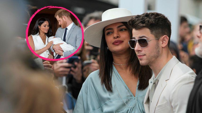 Nick & Priyanka wissen nicht, wann sie Baby Archie treffen!