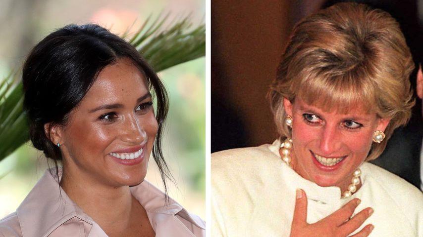 Während Interview: Herzogin Meghan trug Uhr von Diana (†36)