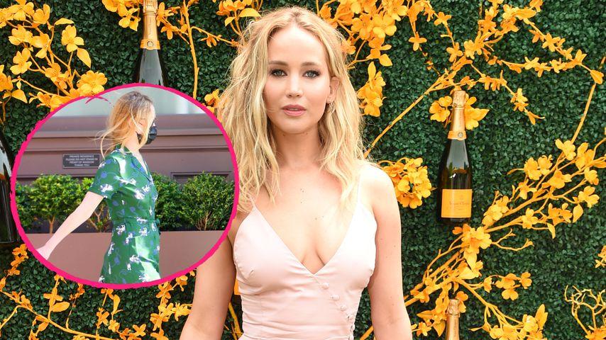 Stylish: Erste Sichtung von Jennifer Lawrence seit Monaten!