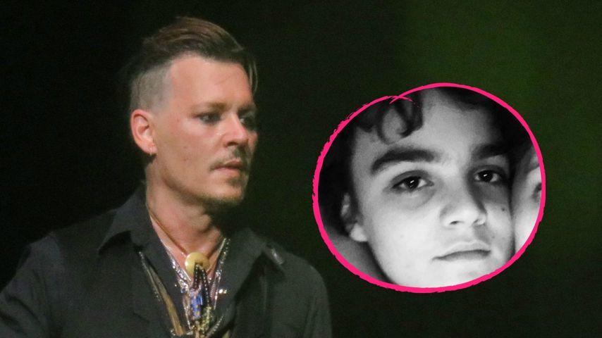 Aufatmen: Johnny Depps Sohn Jack (16) geht's langsam besser!