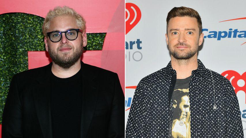 Konzert-Absage: Jonah Hill bietet Justin Timberlake Hilfe an