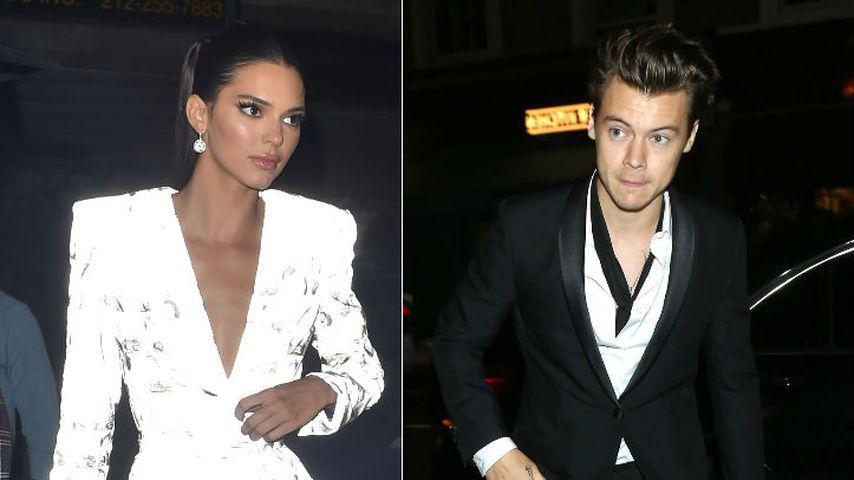 Geht da was? Kendall Jenner & Ex Harry feierten ganze Nacht!