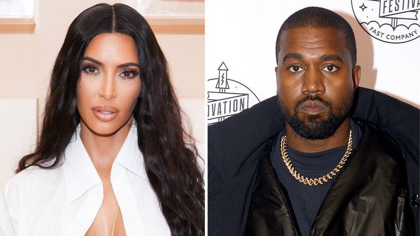 Nach Gespräch mit Kanye: Kim alleine zurück in Los Angeles