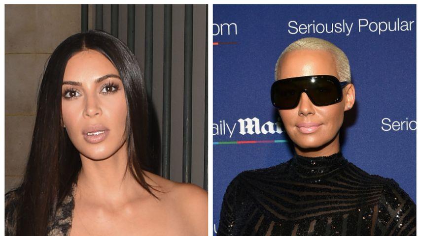 Solidarität für Kim: Kanyes Ex Amber Rose zeigt Mitgefühl