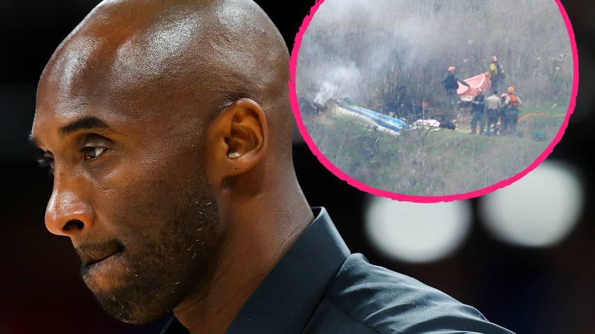 Kobe Bryants Helikopterabsturz: Es gingen viele Notrufe ein