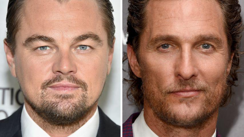 Leonardo DiCaprio und Matthew McConaughey