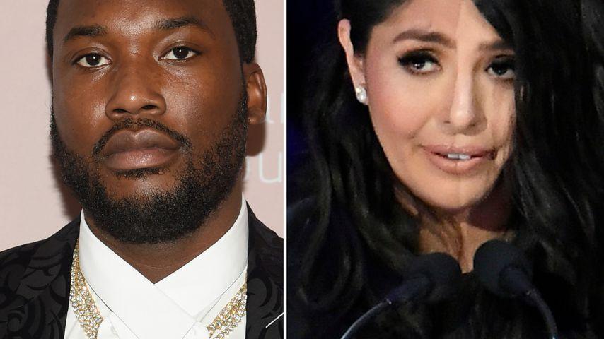 Kobe-Diss: Meek Mill entschuldigt sich bei Vanessa Bryant