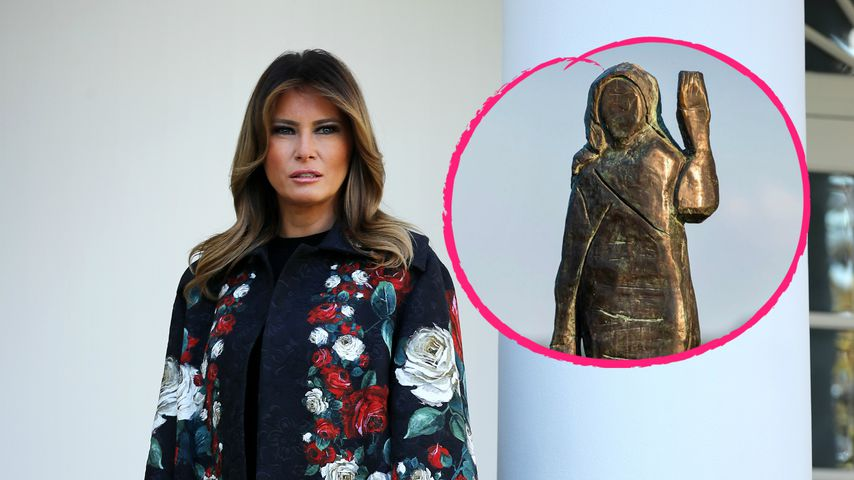 Bronze-Modell: Abgefackelte Melania-Trump-Statue ersetzt