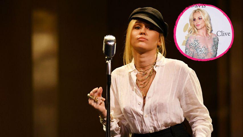 """Bei Festival-Auftritt: Miley Cyrus fordert """"Free Britney""""!"""
