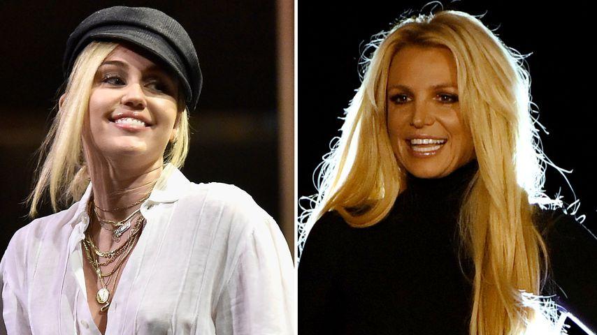 Ex-Disney-Duett? Miley Cyrus will mit Britney Spears singen!