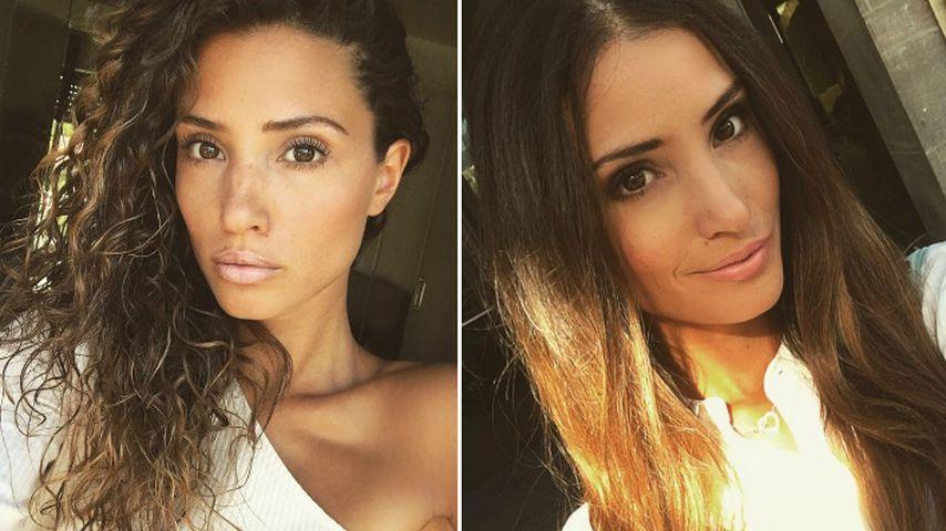 Glatt vs. lockig: Welcher Look steht Nadine Menz besser?