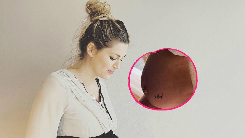 Schwangerer Ex-GZSZ-Star Nina Bott verrät das Babygeschlecht