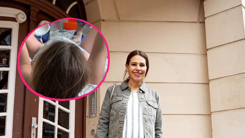 """""""Zielgerade"""": Hier presst Nina Noel ihr Baby aus dem Bauch"""