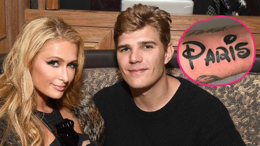 Namens-Tattoo: Boyfriend trägt Paris Hilton unter der Haut!