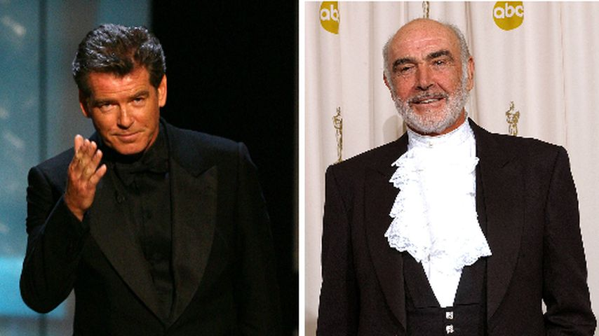 """Bester Bond"": Ex-007 Pierce Brosnan gedenkt Sean Connery"