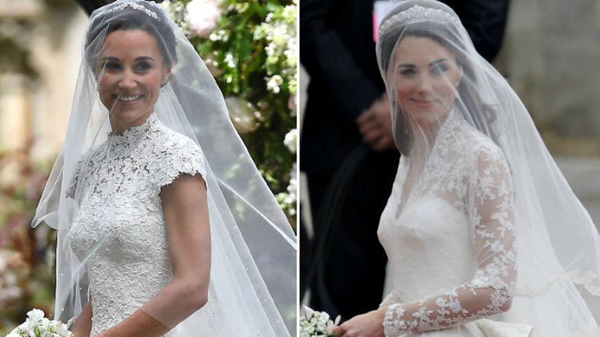Pippa oder Kate: Welche Schwester gewinnt Brautkleid-Battle?