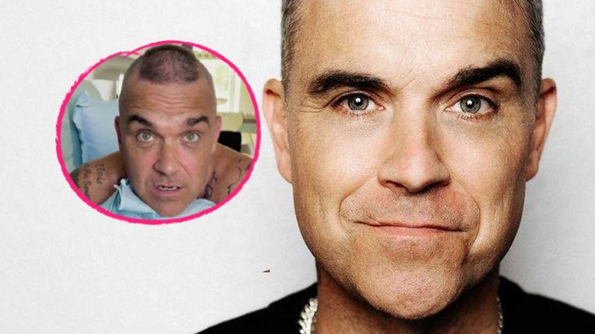 Robbie Williams trägt jetzt wieder einen Irokesenschnitt