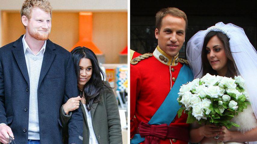 Royal-Doubles: Welche Doppelgänger sehen ihnen ähnlicher?
