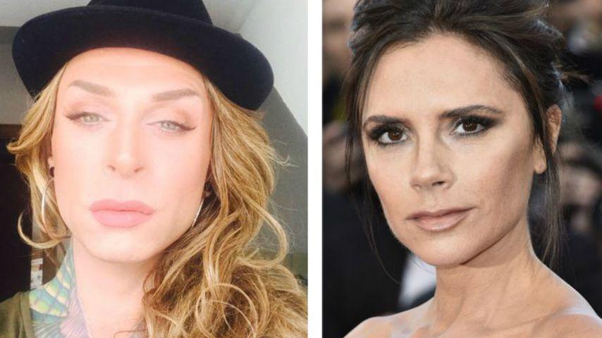 Wie Posh Spice: Ihren Look will Trans-Star Sophia dos Santos
