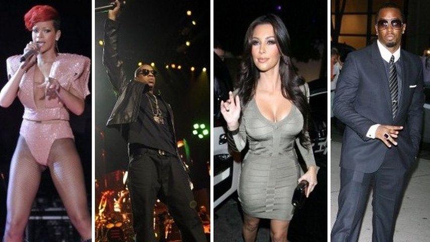 Hier lassen Rihanna & Co. die Korken knallen