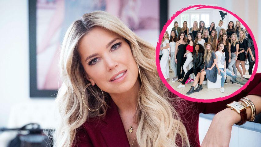 Collage: Sylvie Meis und ihre Dessous-Models