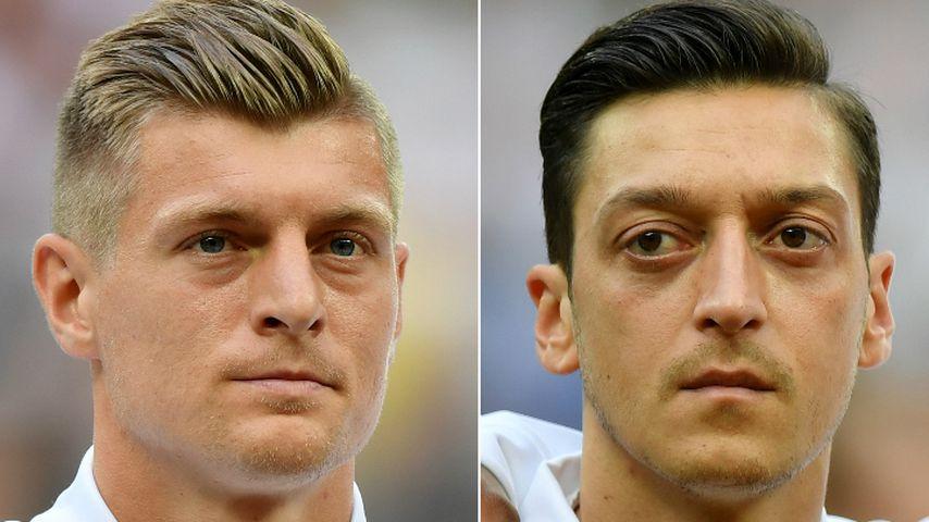 Collage: Toni Kroos und Mesut Özil