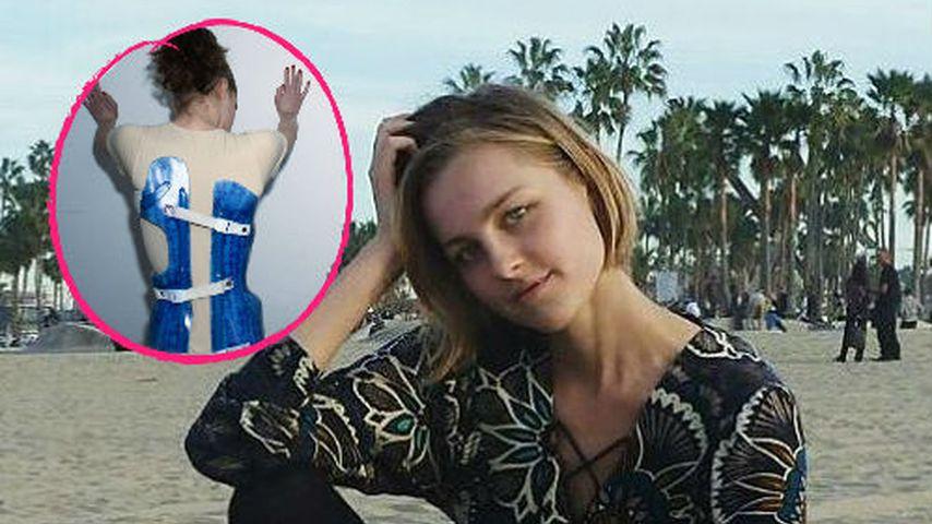 GNTM-Maja gesteht: Als Teenie musste sie Korsett tragen!