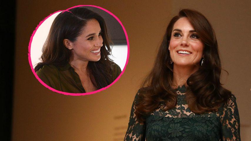 Herzogin Kate: Das denkt sie über Meghan Markle!