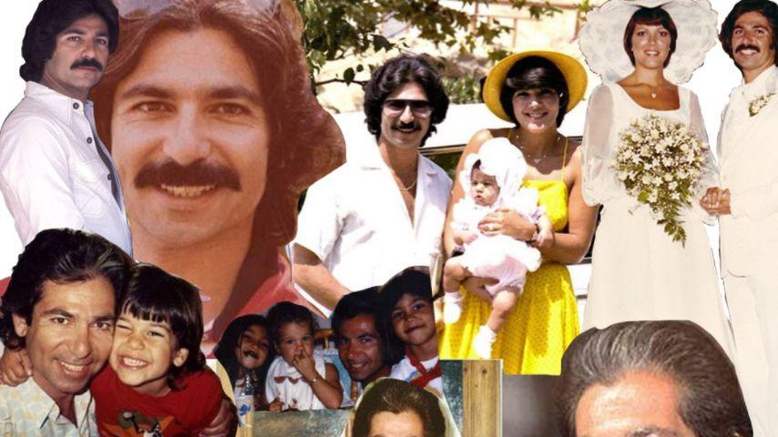 Rob Kardashians Collage mit seinem Vater